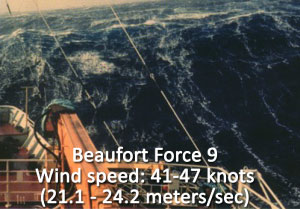 Beaufort Force 9